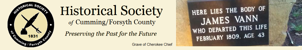 Historical Society of Cumming/Forsyth County